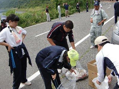本栖湖清掃④.JPG
