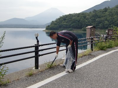 本栖湖清掃③.JPG